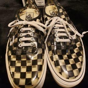 ‼️ Rare checkerboard vans ‼️